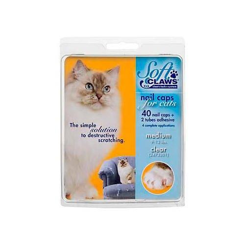 .Unhas postiças para gatos que arranham