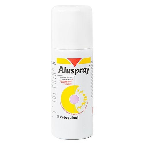 Cicatrizante protector para feridas de mascotes Aluspray