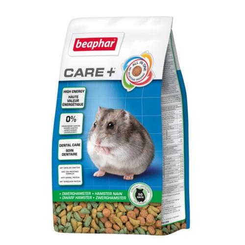 Care + Ração completo super premium para Hamster anão