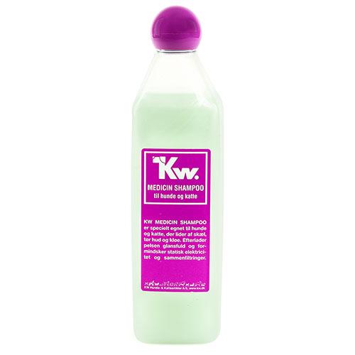 Kw Champô medicinal para problemas dermatológicos