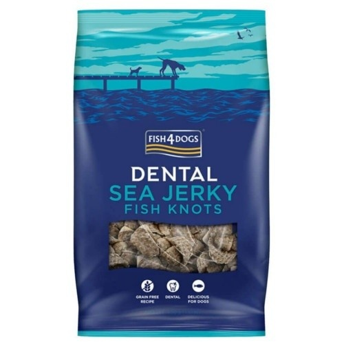 Fish4dogs Sea Jerky Fish bones snack hipoalergénico peixe