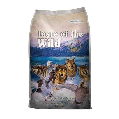 Taste of the Wild Wetlands Canine com pato assado