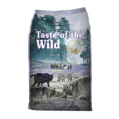 Taste of the Wild Sierra Mountain Canine com cordeiro