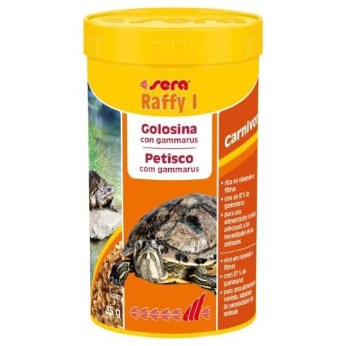 Alimento tartarugas aquáticas e lagartos SERA raffy I