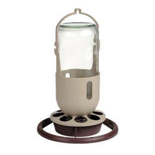 Benelux Alimentador de vidro para pássaros