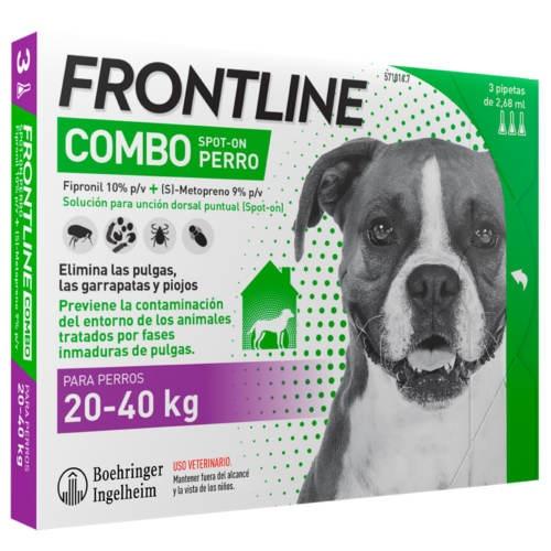 Frontline Combo Spot on cães 20-40 Kg