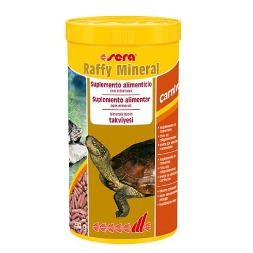 Alimento energético tartarugas e répteis SERA raffy Mineral