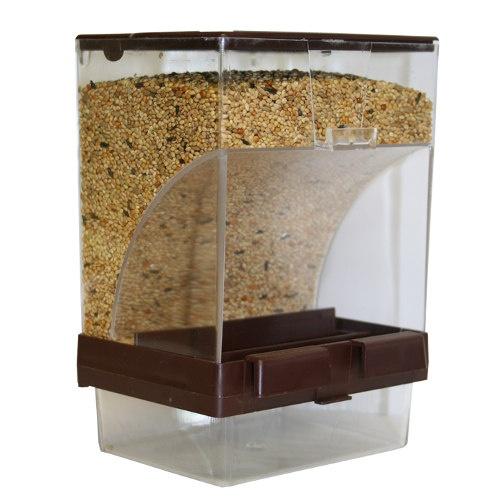Cabine de funil de alimentador do pássaro gaiola