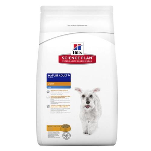 Hill's Canine Mature Adult 7+ Mini Light