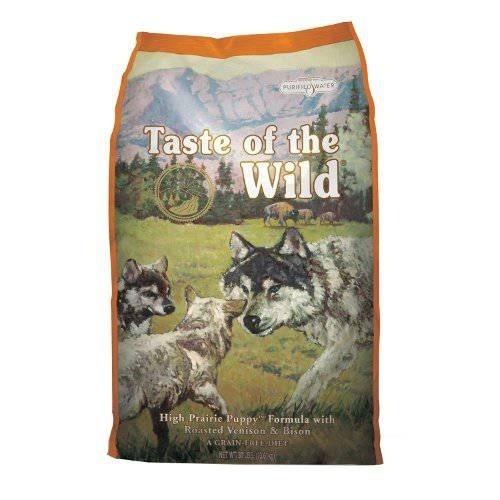 Taste of the Wild Canine High Prairie Puppy com bisão e veado