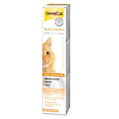 Pasta multi-vitaminas sabor queijo para gatos e furões