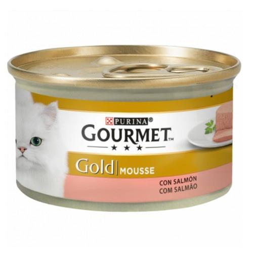 Gourmet mousse Salmão para gatos