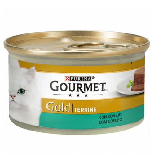 Gourmet terrine Coelho para gatos