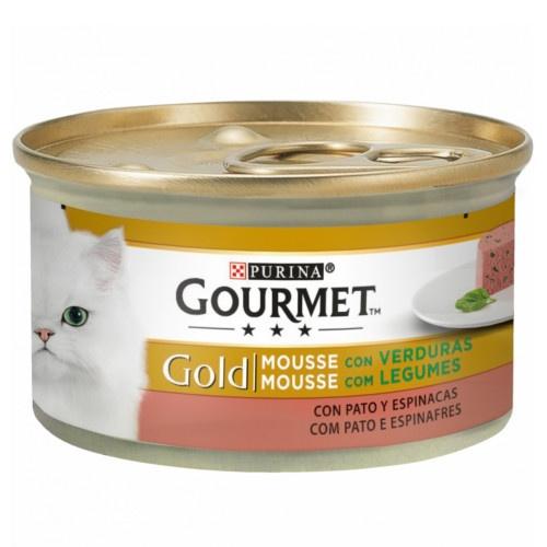Gourmet mousse Pato e espinafre para gatos