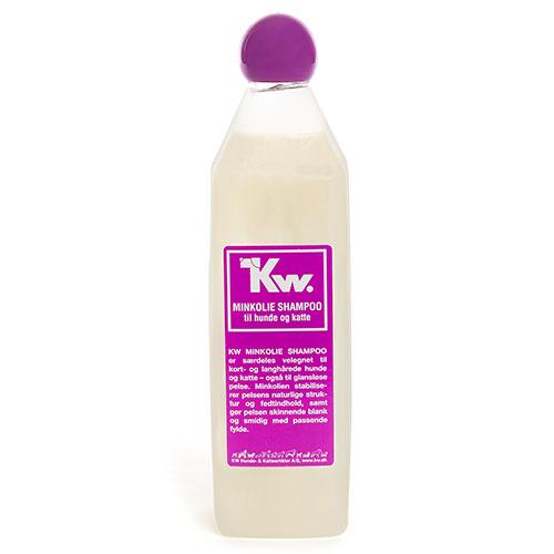 Kw Champô com óleo de vison para cães e gatos