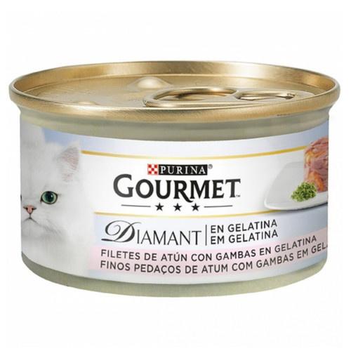 Gourmet Diamant finas lonchas de atum com camarões