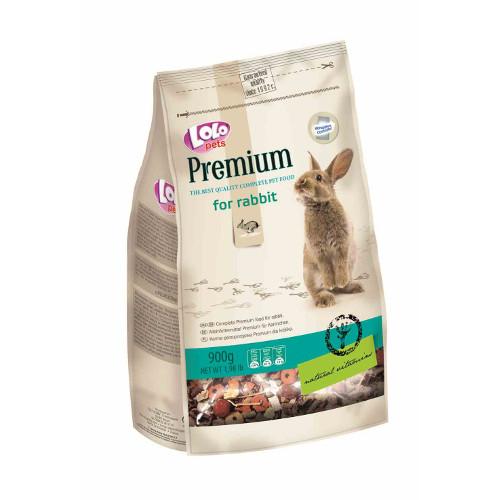 Lolo Pets Premium Mistura completa Coelhos