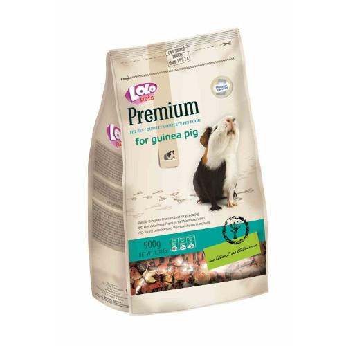 Lolo Pets Premium Mistura completa para Cobaia