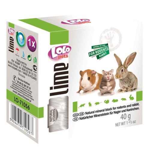 Lolo Pets Bloco Mineral pequeno para roedores