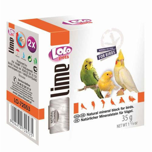 Lolo Pets Bloco Mineral Pequeno para Pássaros