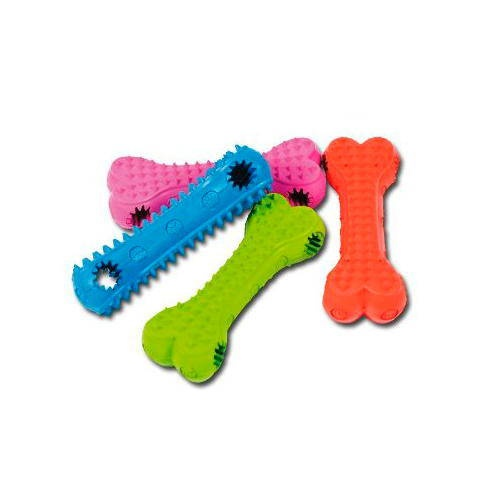 Brinquedo de látex Osso para prêmio  para câes