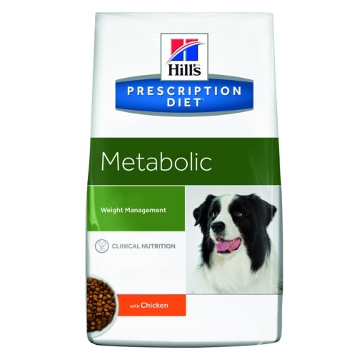 Ração light para cães Hills Prescription Diet Canine Metabolic