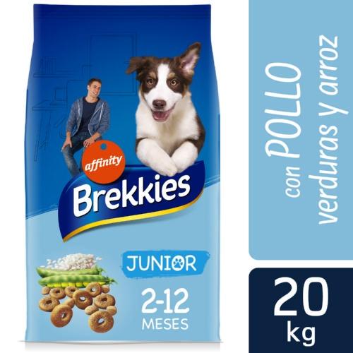 Brekkies Junior Original ração para cachorros