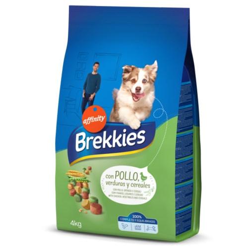 Brekkies Adult Complete Frango Ração para cães