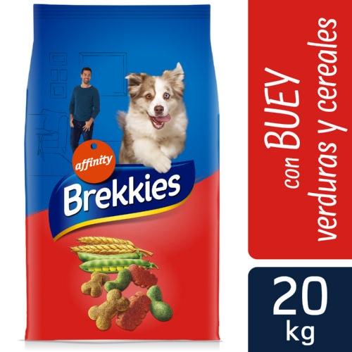 Brekkies Adult Mix Boi Ração para cães