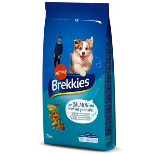 Brekkies Adult Mix Peixe Ração para cães
