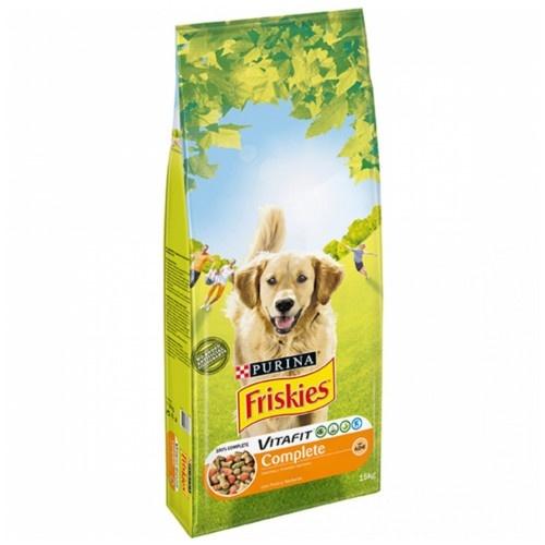 Friskies Adult Complet Frango e legumes ração para cães