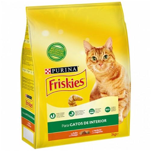 Friskies gato adulto indoor controlo das bolas de pêlo