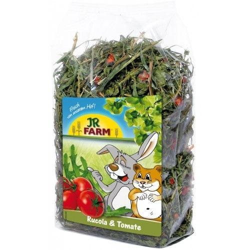 Jr-Farm Rúcula e Tomate Seco para roedores e répteis