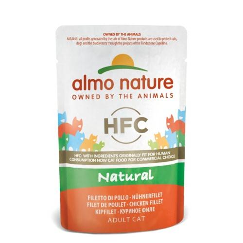 Almo Nature Classic comida húmida natural para gatos 55