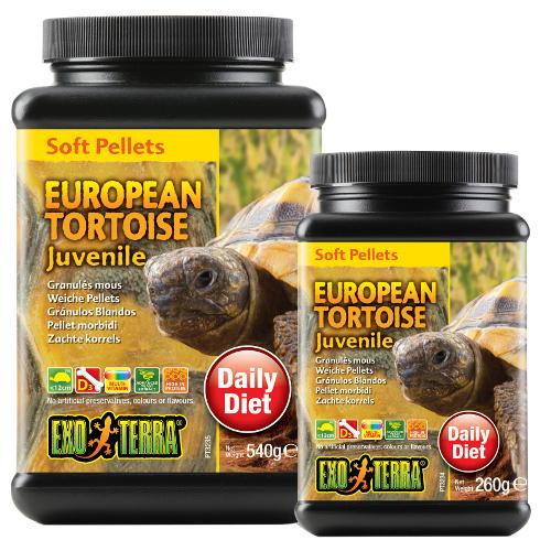 Alimento Tartaruga Europeia jovem EXO TERRA