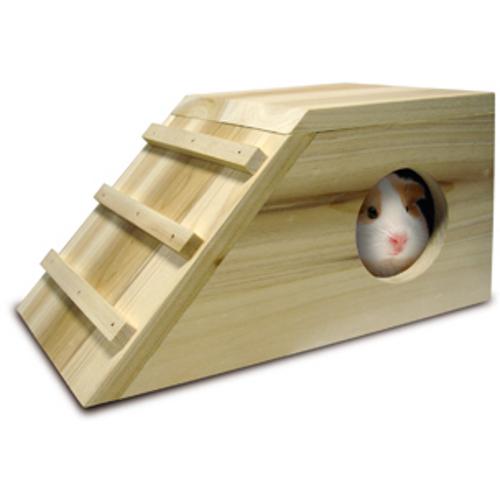 Casa de madeira para roedores Cavia Cabana