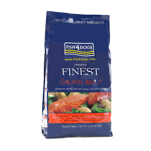 Fish4dogs Adult Complet Salmão com peixe fresco