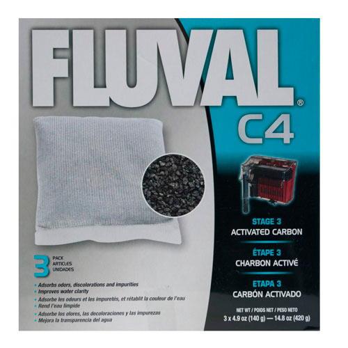 Carvão activado para filtro bolsa Fluval C