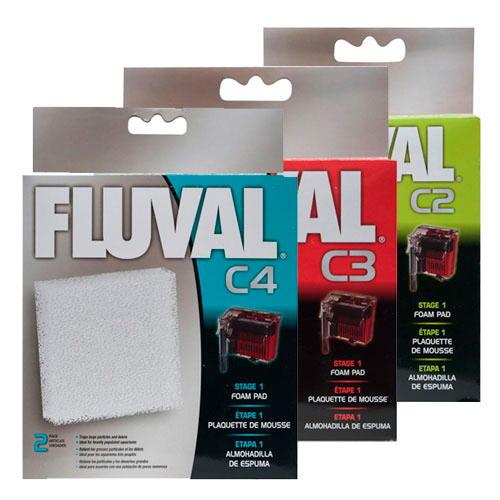 Foamex de reposição para filtro bolsa Fluval C