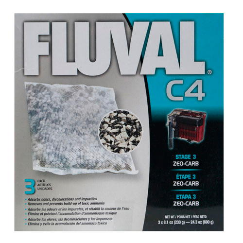 Zeo-Carb para filtro bolsa Fluval C