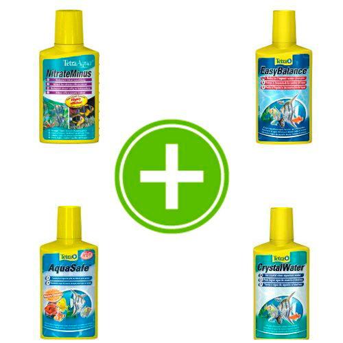 Pack - evitar mudanças de água no meu aquário