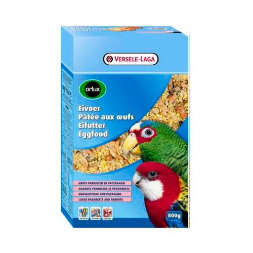 Pasta de ovo seca Orlux para ninfas, grandes periquitos e papaga