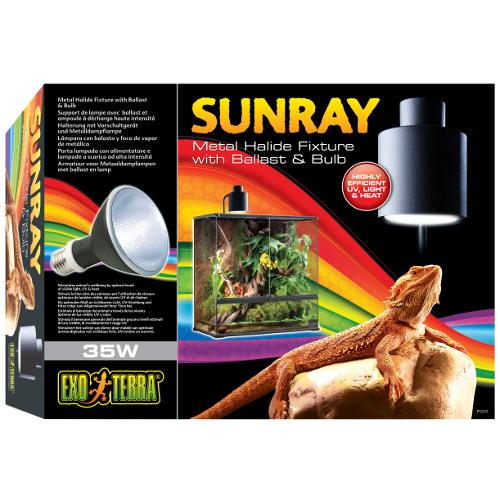 EXO TERRA  Mercury lâmpada + reator