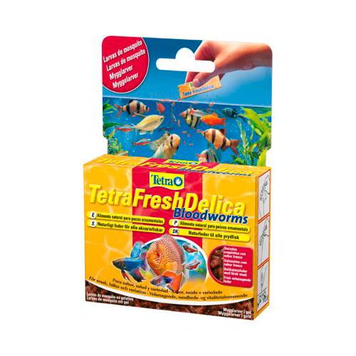 Tetra Fresh Delica alimento fresco para aquários