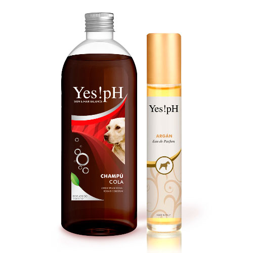 Pack Yes!pH champô e perfume para cães e gatos