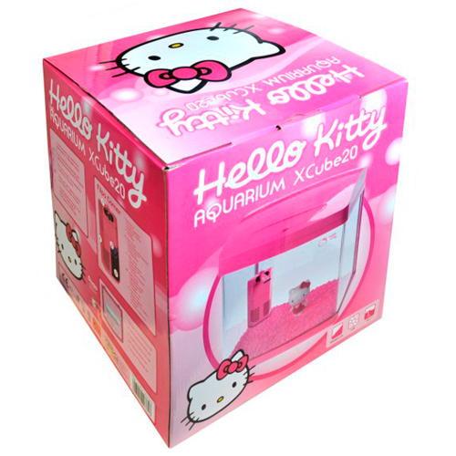 Aquário infantil Kit completo Hello kitty