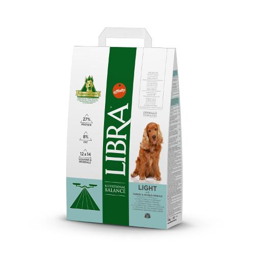 Affinity Libra Light ração para cães com peru