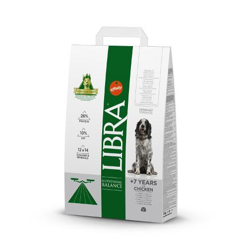 Affinity Libra  7 ração para cães com frango