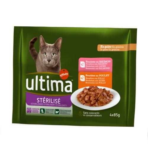 Affinity Ultima Esterilizados multipack de comida húmida para gatos