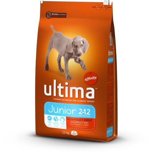 Affinity Ultima Junior ração para cães com frango